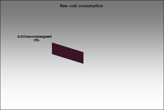 Kolmar - Raw coal consumption
