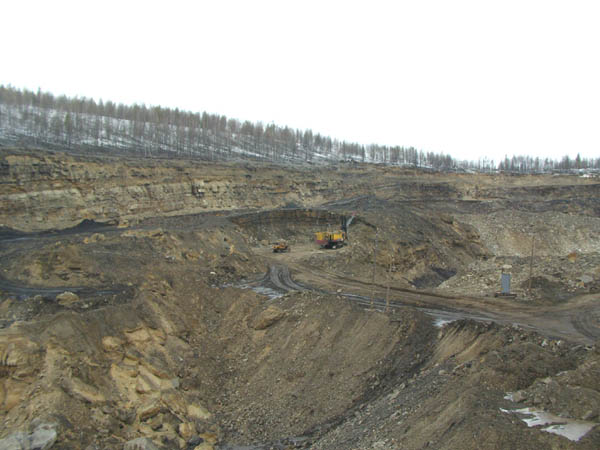 opencast Kolmar - Photo